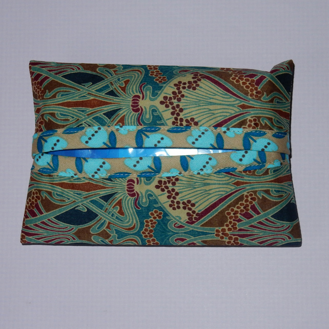 Pocket tissue holder - Liberty print Iolanthe