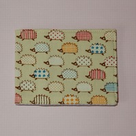 Travel card wallet Hedgehogs