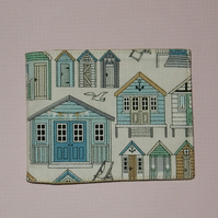 Card wallet beach huts
