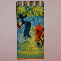 Glasses case - slip in Traditional African ladies
