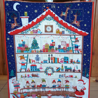 Reusable fabric Advent Calendar