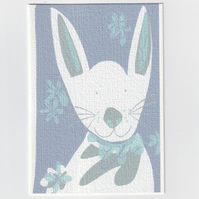 Easter Bunny - Spring Greetings Card