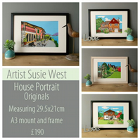 House portrait by Susie West