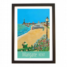 Margate travel poster print by Susie West
