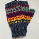Wool & Alpaca fingerless gloves