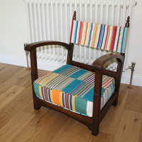 1930's small chair - reupholstered