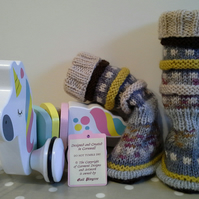 Baby Bootie socks, Leg Warmers 3-9 months size