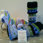 Baby Booties and Leg Warmer Set 0-6  months size