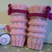 Children's Leg-Ankle Warmers 4-5 years size
