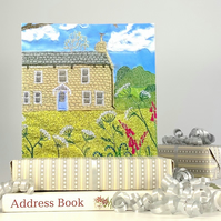 Country Cottage Card - new home card, birthday card