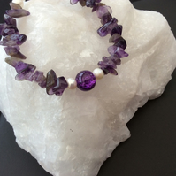 Purple Bracelet - Gemstone Bracelet