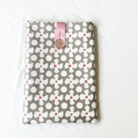 8 inch tablet case in grey fabric - IPad Mini cover