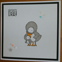 Puffins Mother's Day Card