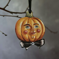 Peter pumpkin illustrated laser cut Halloween decoration