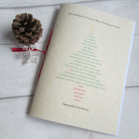 Decorating the Tree & Other Christmas Poems - Poetry Pamphlet, Christmas Eve Box