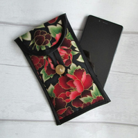 SOLD - Red Paeony Glasses or Phone Case