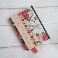 SOLD - A6 Japanese Patchwork Reusable Notebook Cover