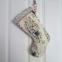 SALE - Scandi Tree Christmas Stocking