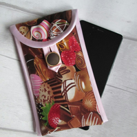 Chocolate Box Glasses or Phone Case, Storage Pouch