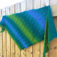 Flower Catcher Shawl knitting pattern