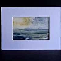Original Watercolour Painting - Seascape - Scotland