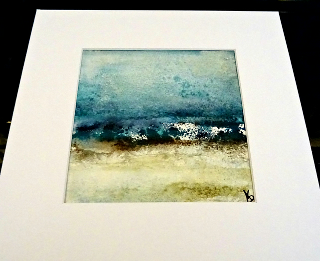 Original Mounted Watercolour Painting