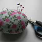 Green Rose Pin Cushion