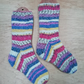 Hand knitted chunky socks MEDIUM Size 5-6