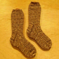 Hand knitted socks, LARGE, size 8-10