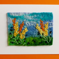 orange lupin card