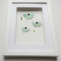 Sea Glass Flowers, Unusual Gifts for Her, Mother's Day Gift Idea