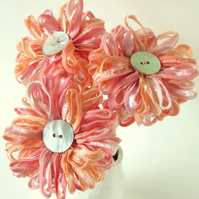 Ribbon Bouquet, Peach Blossom