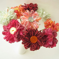 Custom Wedding Bouquet, 9 ffflowers