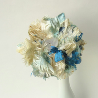 Sea Breeze Ribbon Flower