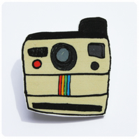 Polaroid Brooch
