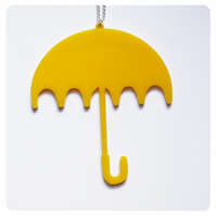 Custom Acrylic Umbrella Necklace