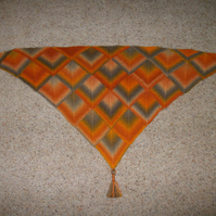 Triangular Shawl Pattern. Knitting Pattern. PDF Knitting Pattern