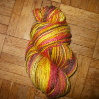 125g Hank of  Handspun Portland Wool