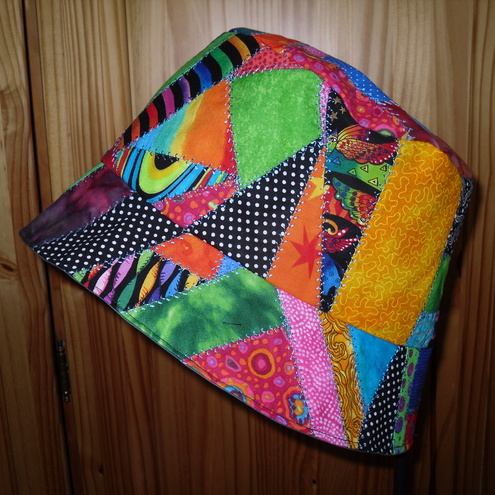 Crazy Patchwork Bucket Hat