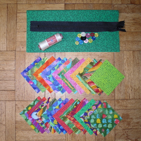 Complete Patchwork Purse Kit