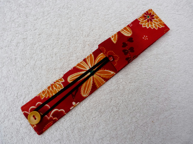 Set 2.75 mm 20cm long  DPN in Red Cotton Case.