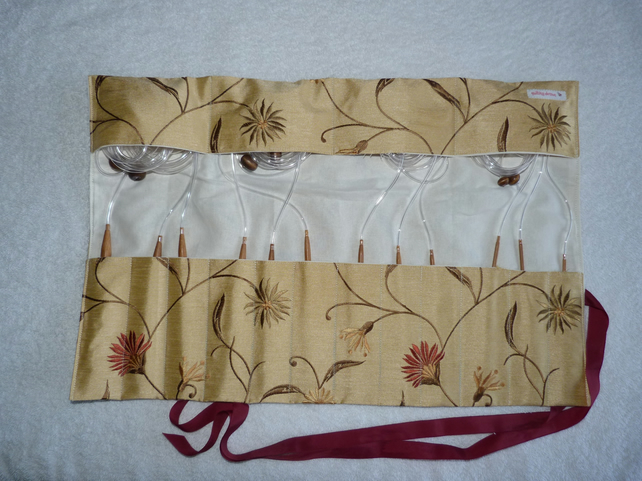 Afghan Tunisian Crochet Hook Set in Handmade Case. 12 Hooks Sizes 3.0-10.0. 48""