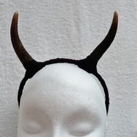 Deer Antler and Lace Headband. Faerie Festival Wear.