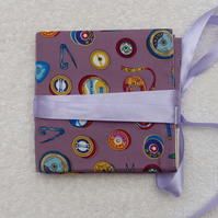Interchangeable Knitting Needle Holder in Purple Sewing Notions