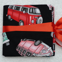 Interchangeable Knitting Needle Holder in VW Campers on Black