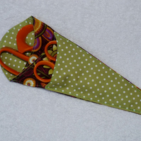 Scissor Holder. Fabric Scissor Case for 3 pairs Scissors.