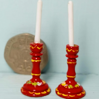 12th Scale Candlesticks