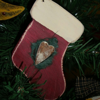 Stocking Christmas Tree Decoration