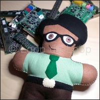 Maurice Moss stuffie (The IT Crowd)