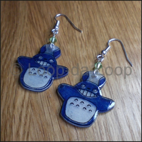 Totoro earrings